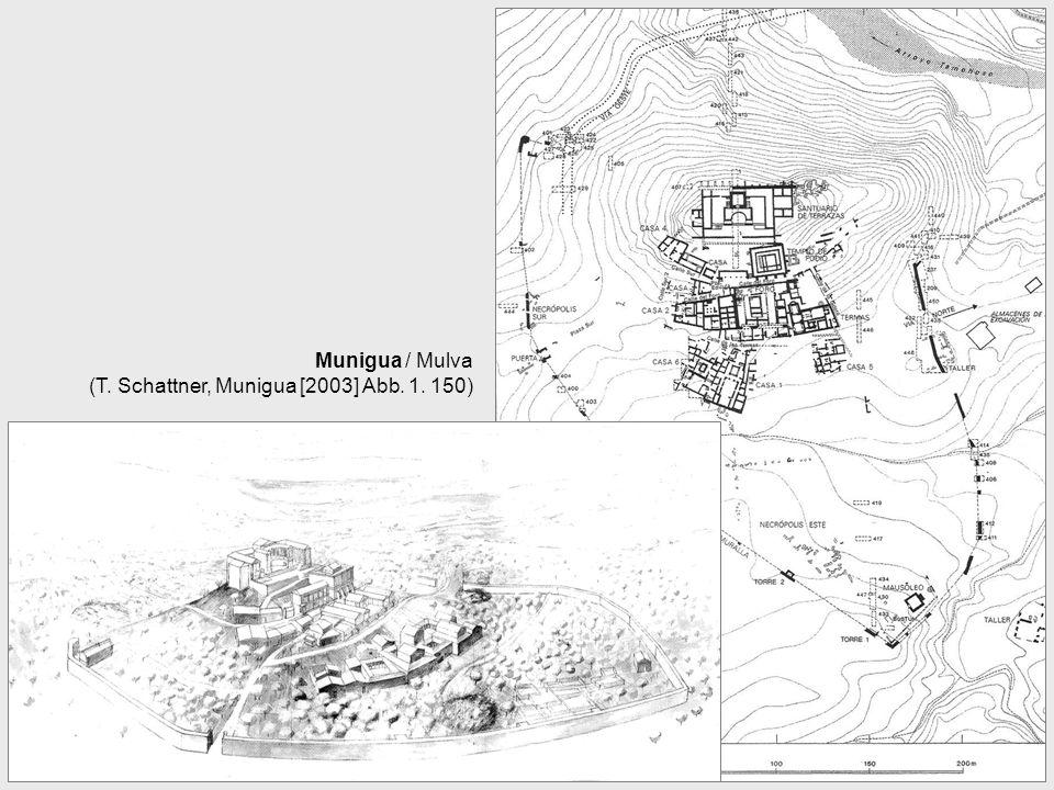 Munigua / Mulva (T. Schattner, Munigua [2003] Abb. 1. 150)